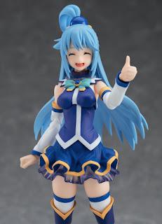 """Figuras: Imágenes del figma de Aqua de """"Kono Subarashii Sekai ni Shukufuku wo!"""" - Max Factory"""