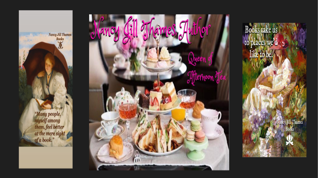 Nancy Jill Thames, Author ~ Queen of Afternoon Tea