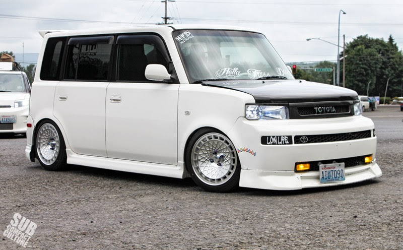Scion xB from Mt St Helens cruise