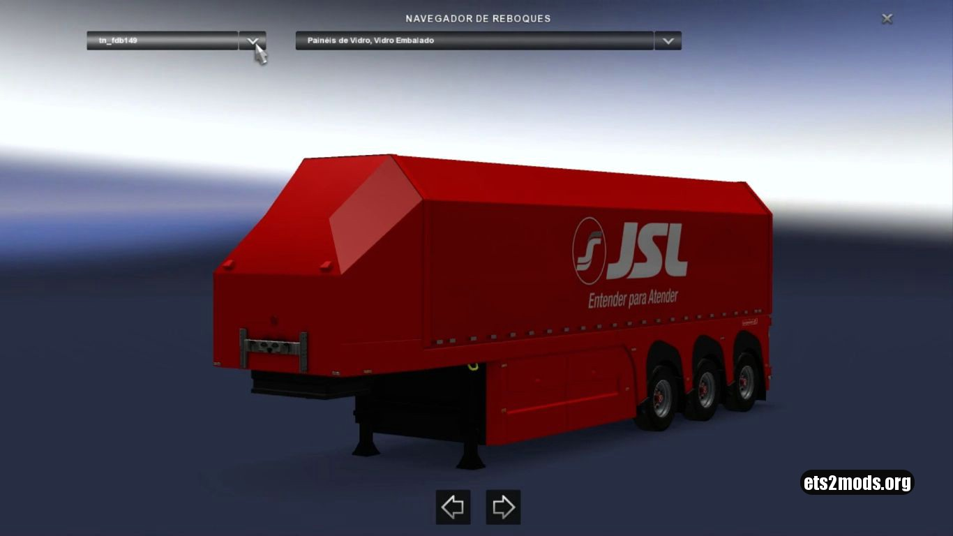 Brazilian Glass Trailers Pack