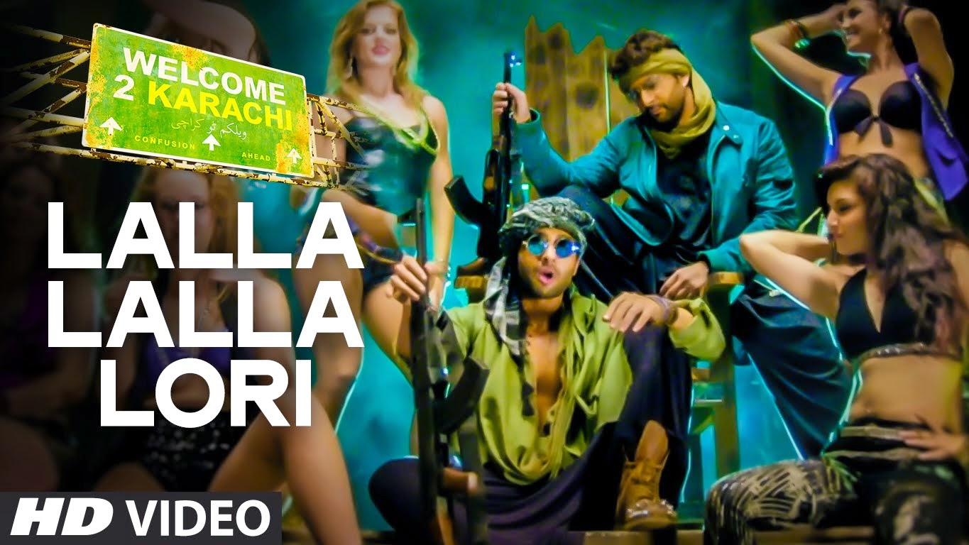 Lalla Lalla Lori Video Song l Welcome To Karachi l Arshad Warsi, Jackky Bhagnani and Lauren Gottlieb
