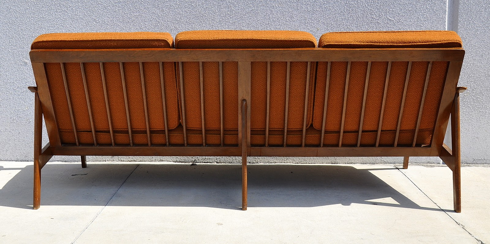 danish modern sofa bed franklin reclining with heat and massage select