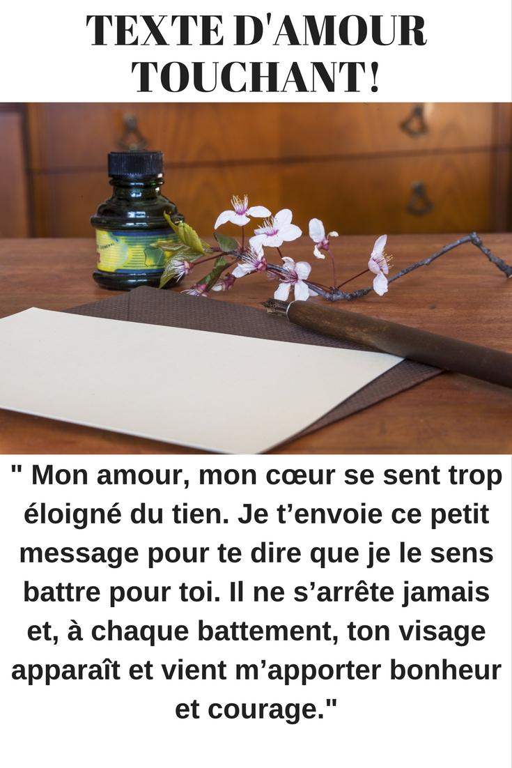 Textes D Amour Touchants A Envoyer 2018 Sms D Amour Et Messages