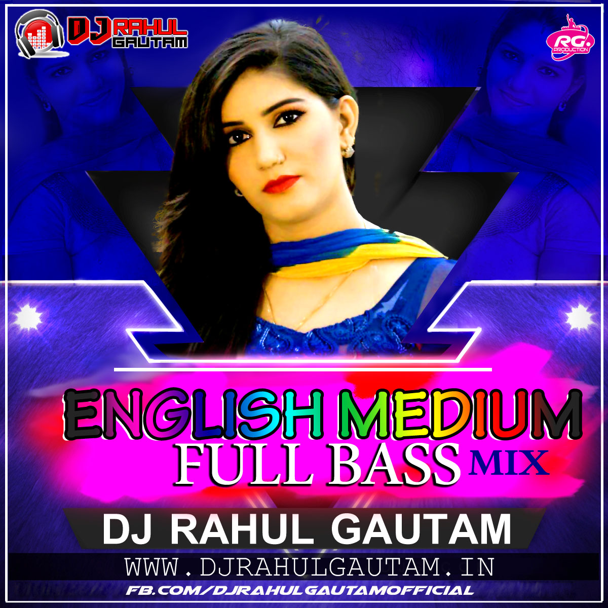Download Title Song Of Bepanah By Rahul Jain: Main English Medium Padi Hui Sapna Chaudhary Full Bass Mix