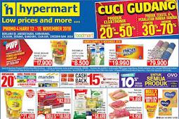 Katalog Promo Hypermart Weekday 12 - 15 November 2018