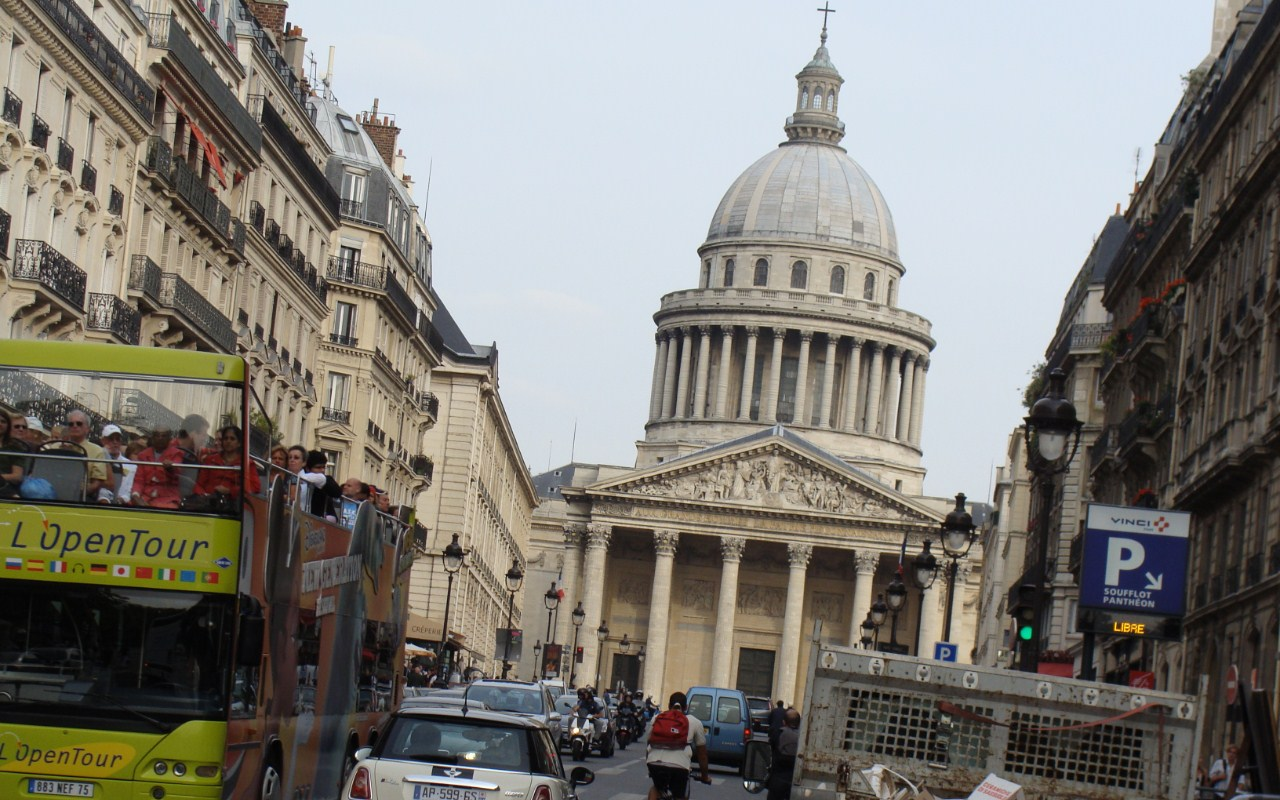 Péndol de Foucault al panteó de París