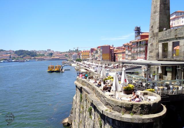 Oporto zona río
