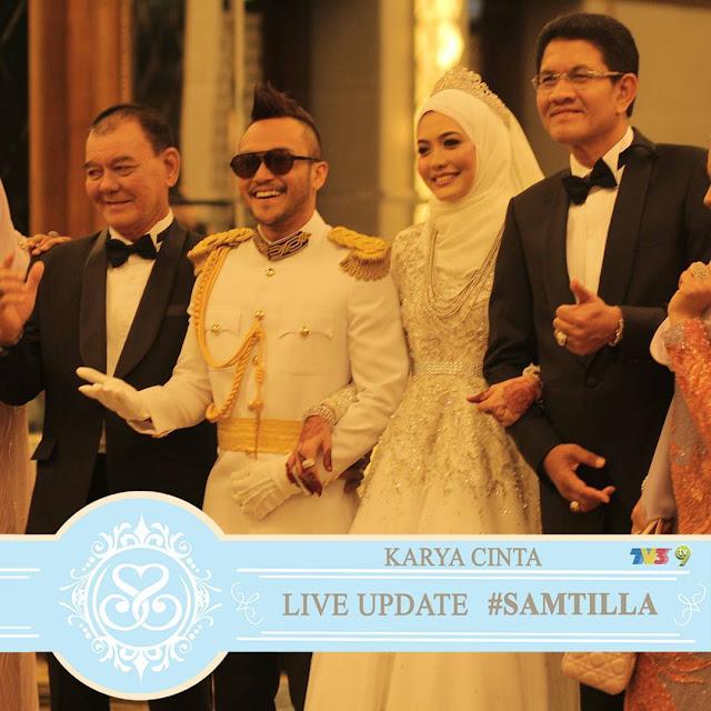 perkahwinan Shaheizy Sam dan Syatilla Melvin
