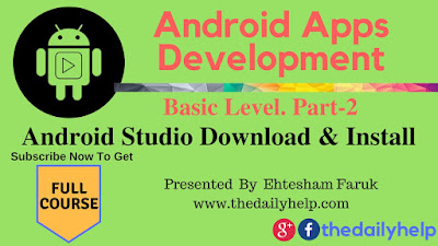 Android Studio Download And Install