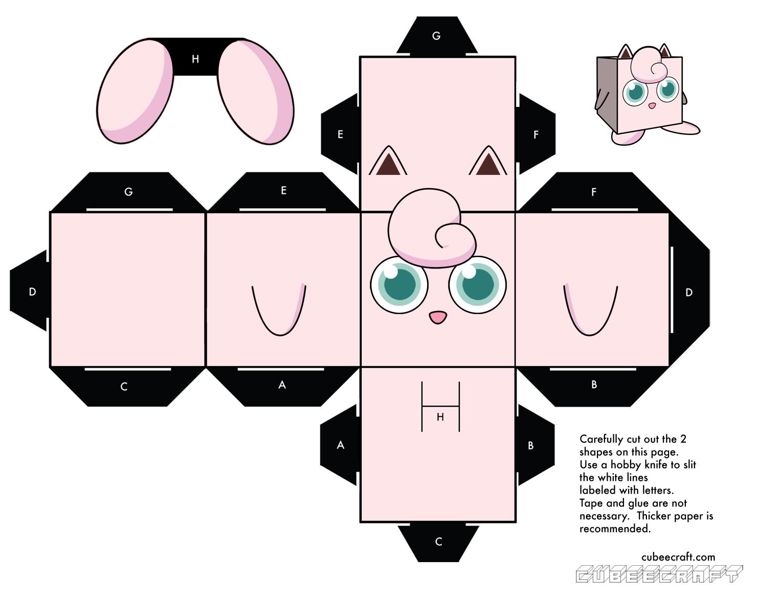 pokemon templates print - cubeecraft cubeecraft de pok mon