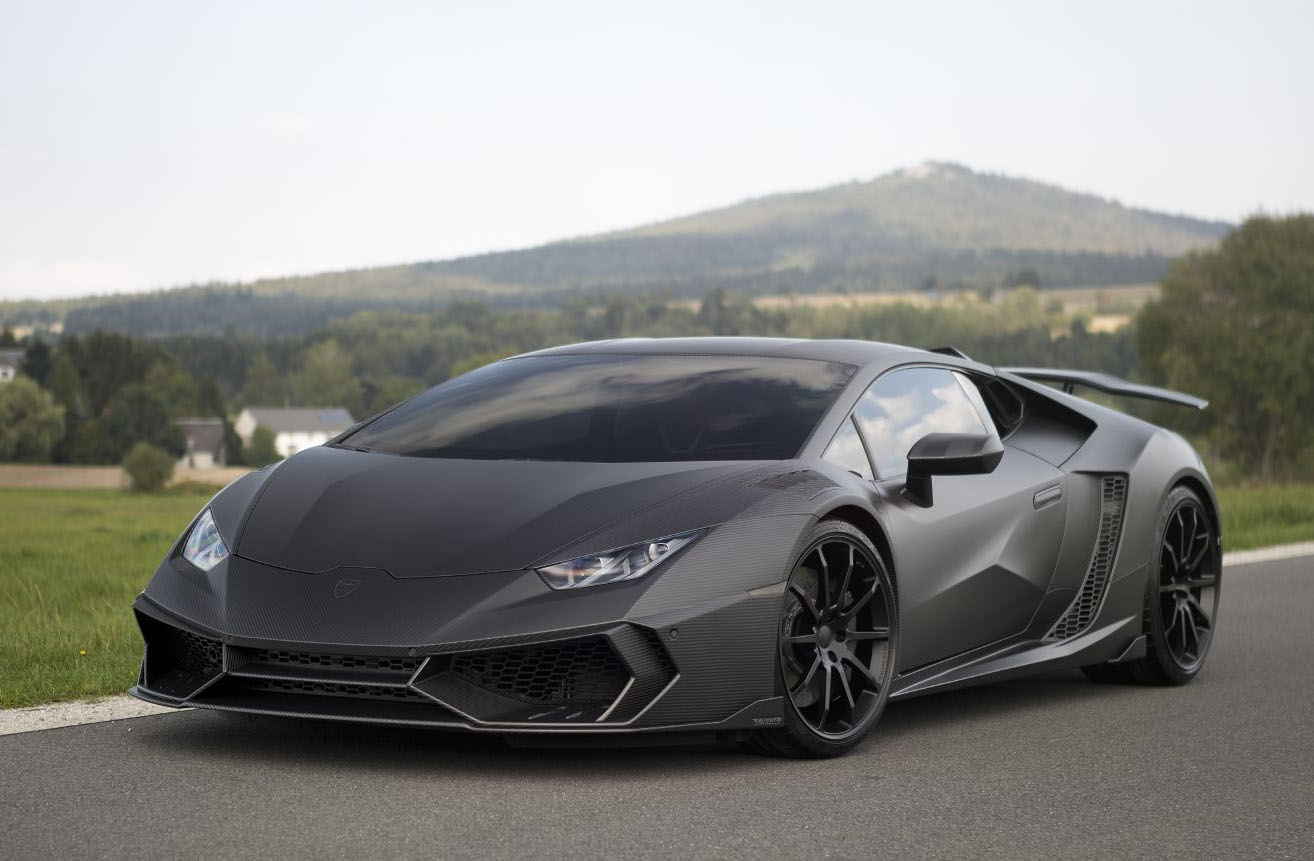 Lamborghini Huracan Is Getting A Mansory Bull