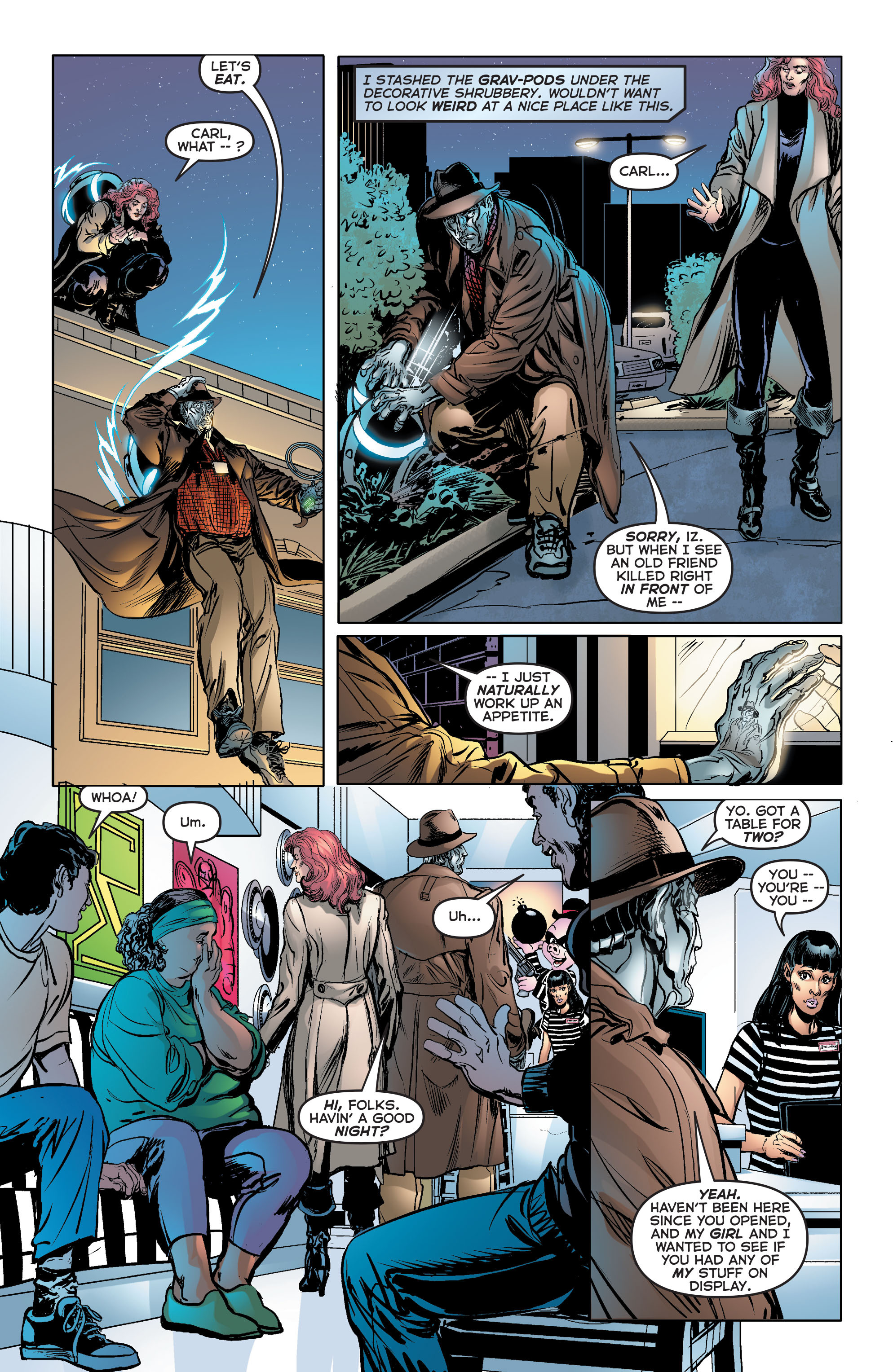 Read online Astro City comic -  Issue #33 - 21