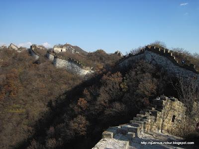 Geocaching en la Gran Muralla China: Jiankou - Mutianyu