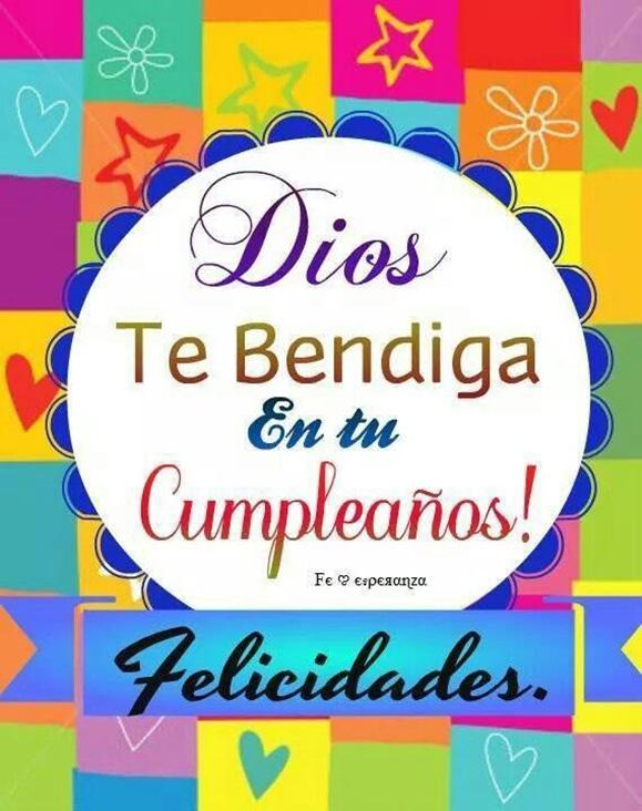 bendiciones cumpleaños