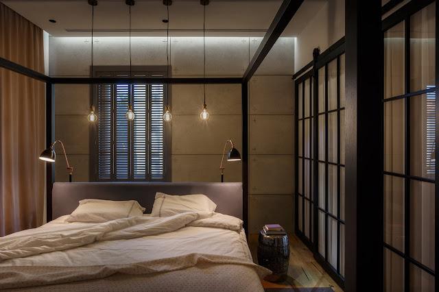 Design interior apartament eclectic -  Design interior living open space Bucuresti