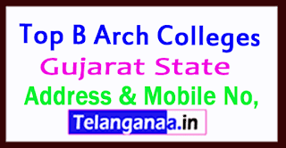 Top B Arch Colleges in Gujarat