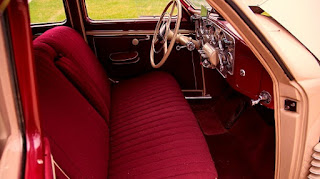 1937 Cord 812 Beverly Sedan Dashboard
