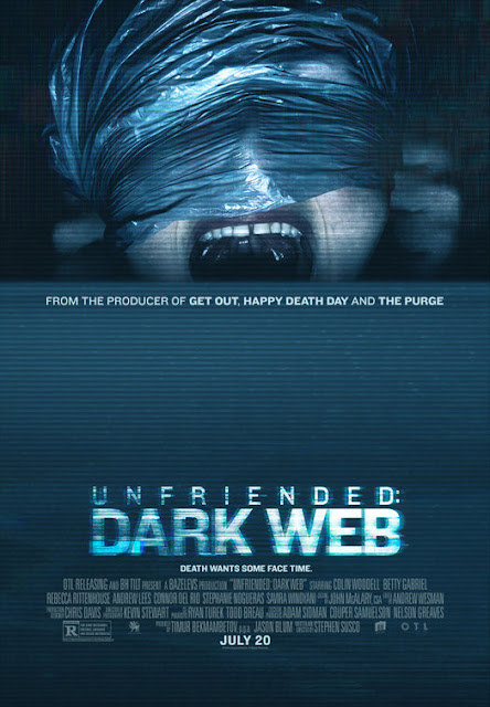 Unfriended: Dark Web 2018 horror movie poster