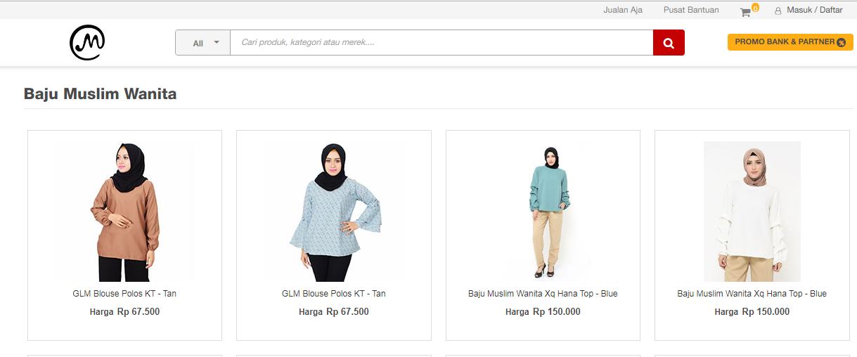 toko baju muslim online wanita