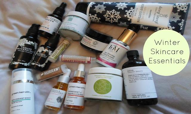 natural organic skincare for winter