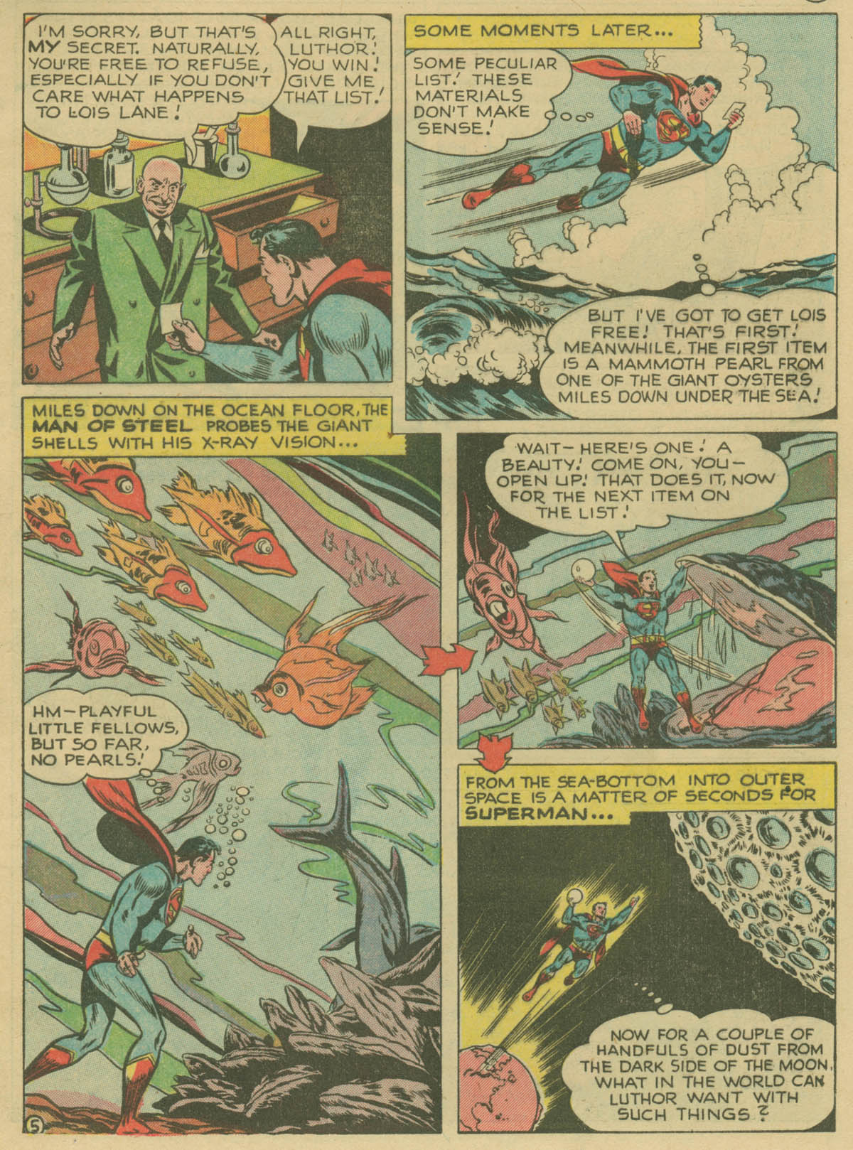 Read online Action Comics (1938) comic -  Issue #141 - 6