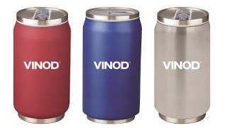 Vinod Cookware launches its 'can shaped' Thunder Bottles (500ml) priced for Rs. 660/-