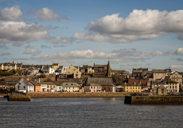 Photo of Maryport in the sunshine yesterday (Thursday)
