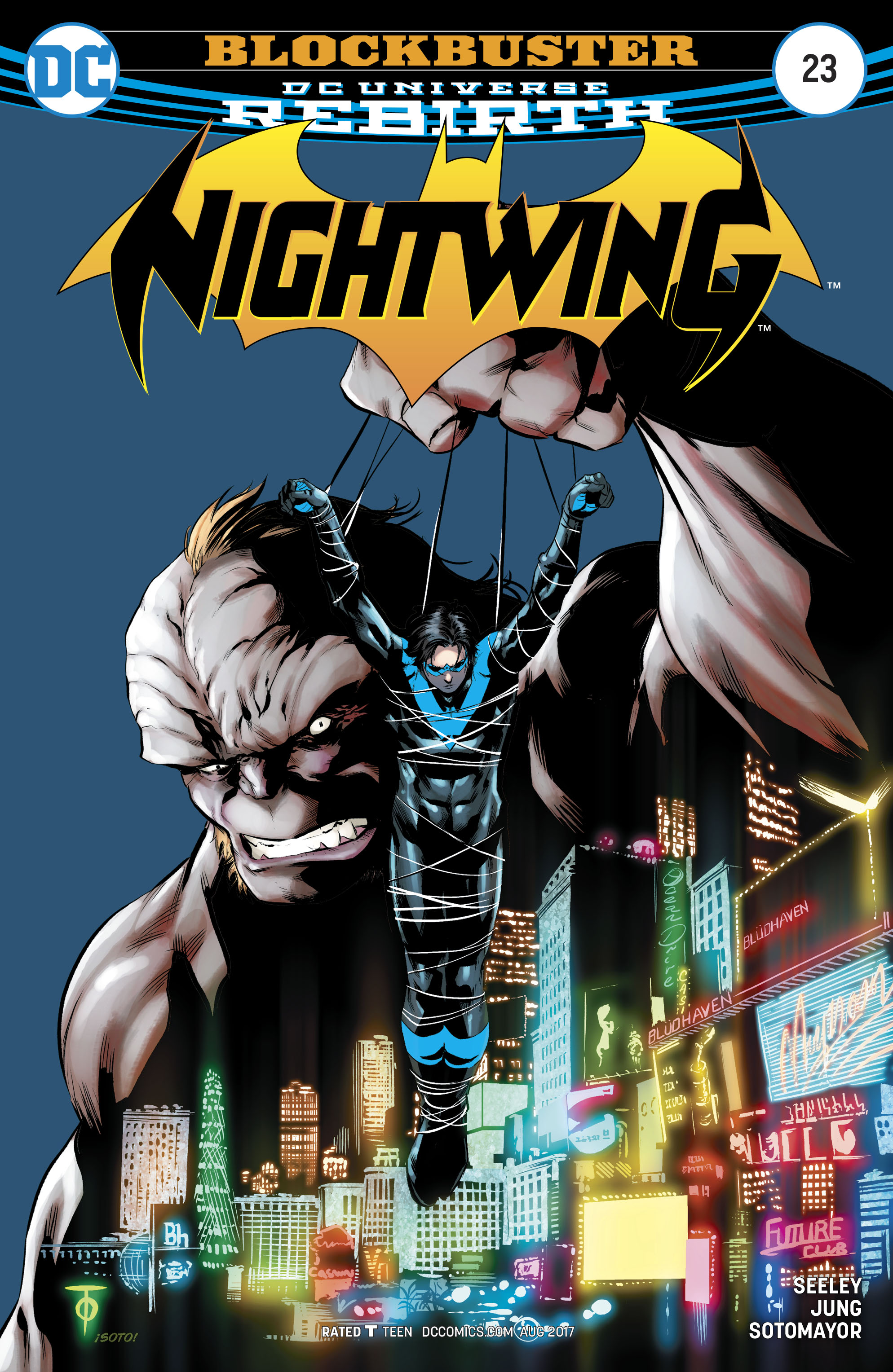 Read online Nightwing (2016) comic -  Issue #23 - 1