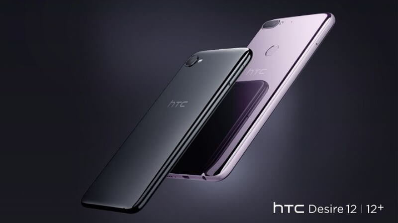 HTC Desire 12, Desire 12+ Announced