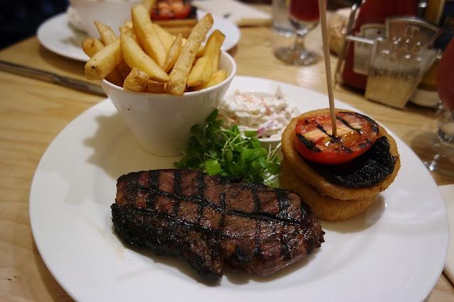 Grosvenor Casino Food Restaurant Review Sirloin Steak