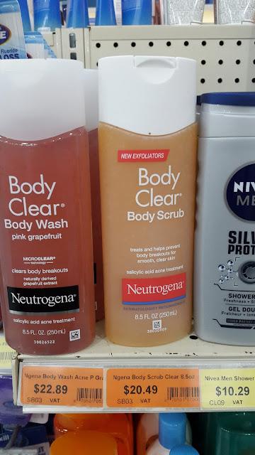 Neutrogena Body Clear Body Scrub - www.modenmakeup.com