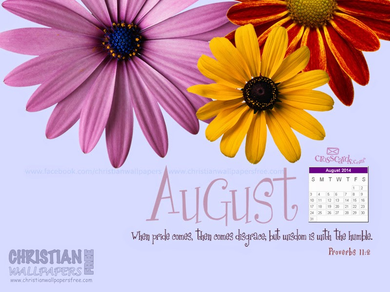 August 2014 Desktop Calendar Wallpaper | Call Me Victorian