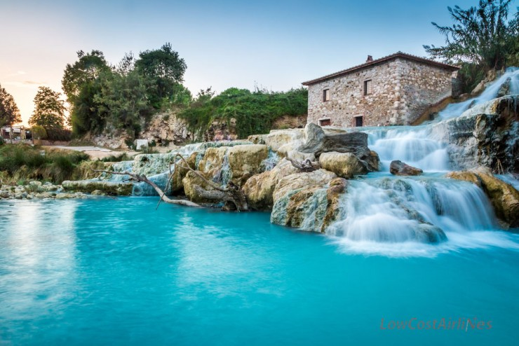 Top 10 Natural Wonders in Italy - Hot Springs of Saturnia
