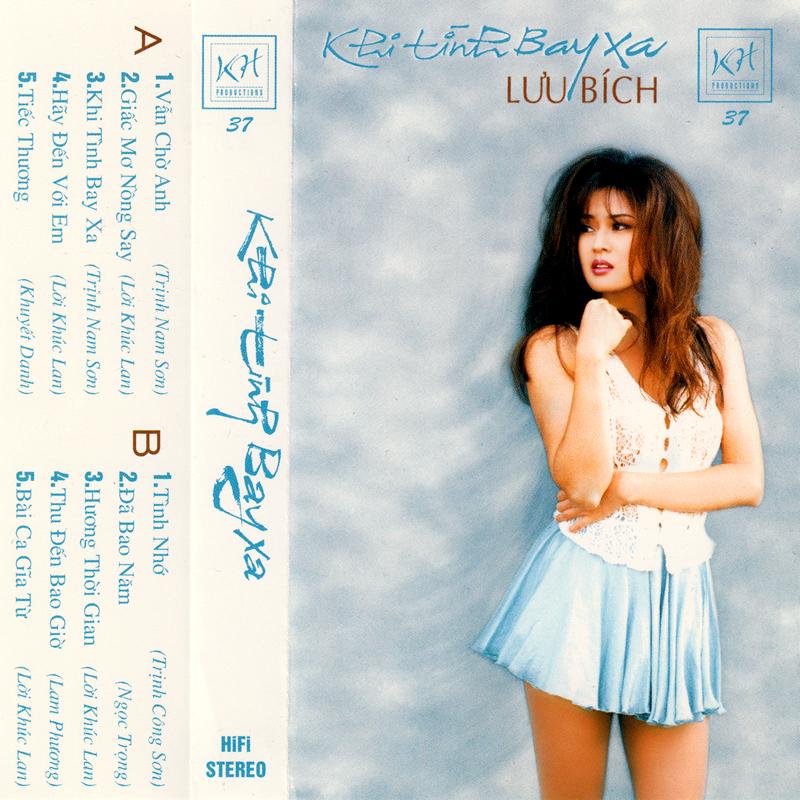 Tape Khánh Hà 37 - Lưu Bích - Khi Tình Bay Xa (WAV)