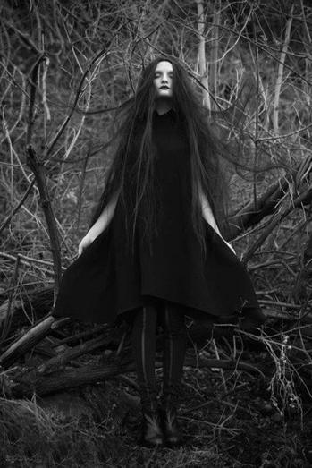 Dark gothic witch girls join. All