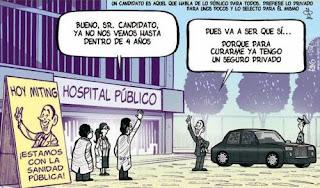 Viñeta Humor Politicos y Sanidad