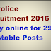 CG Police Recruitment 2016 Apply online for 2976 Constable Posts