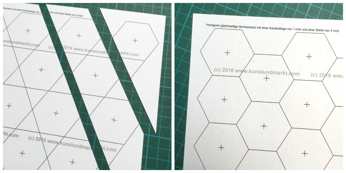 Hexagon-Druckvorlagen bei KunstUndMarkt