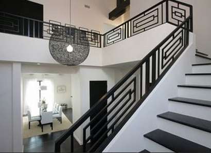 15 tampilan railling besi tangga minimalis terbaru bulan ini