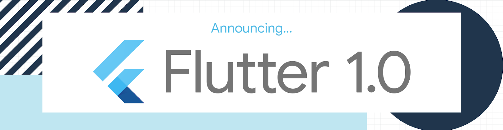 Flutter 1.0: Google's Portable UI Toolkit, Cross-platform mobile development