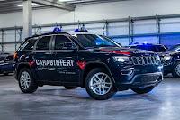 Jeep Grand Cherokee Carabinieri (2018) Front Side