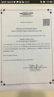 Myrezki Global Labur RM30 Dapat RM29K
