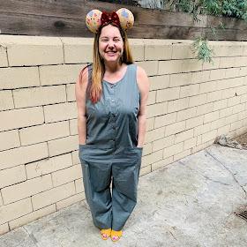 Disney, Disney fashion, #DisneyStyle, #MinnieStyle, Minnie ears, #EarsOutsidetheParks, fashion challenge, Disney fashion challenge, Disney bound, Disney bounding, Eeyore, Winnie the Pooh