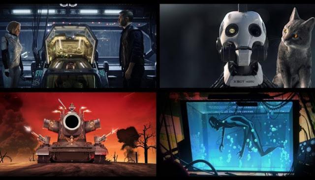 love death robots Tim Miller
