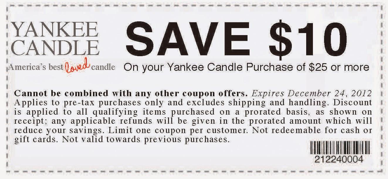 Yankee candle coupon december 2018 printable / Khaugalideals