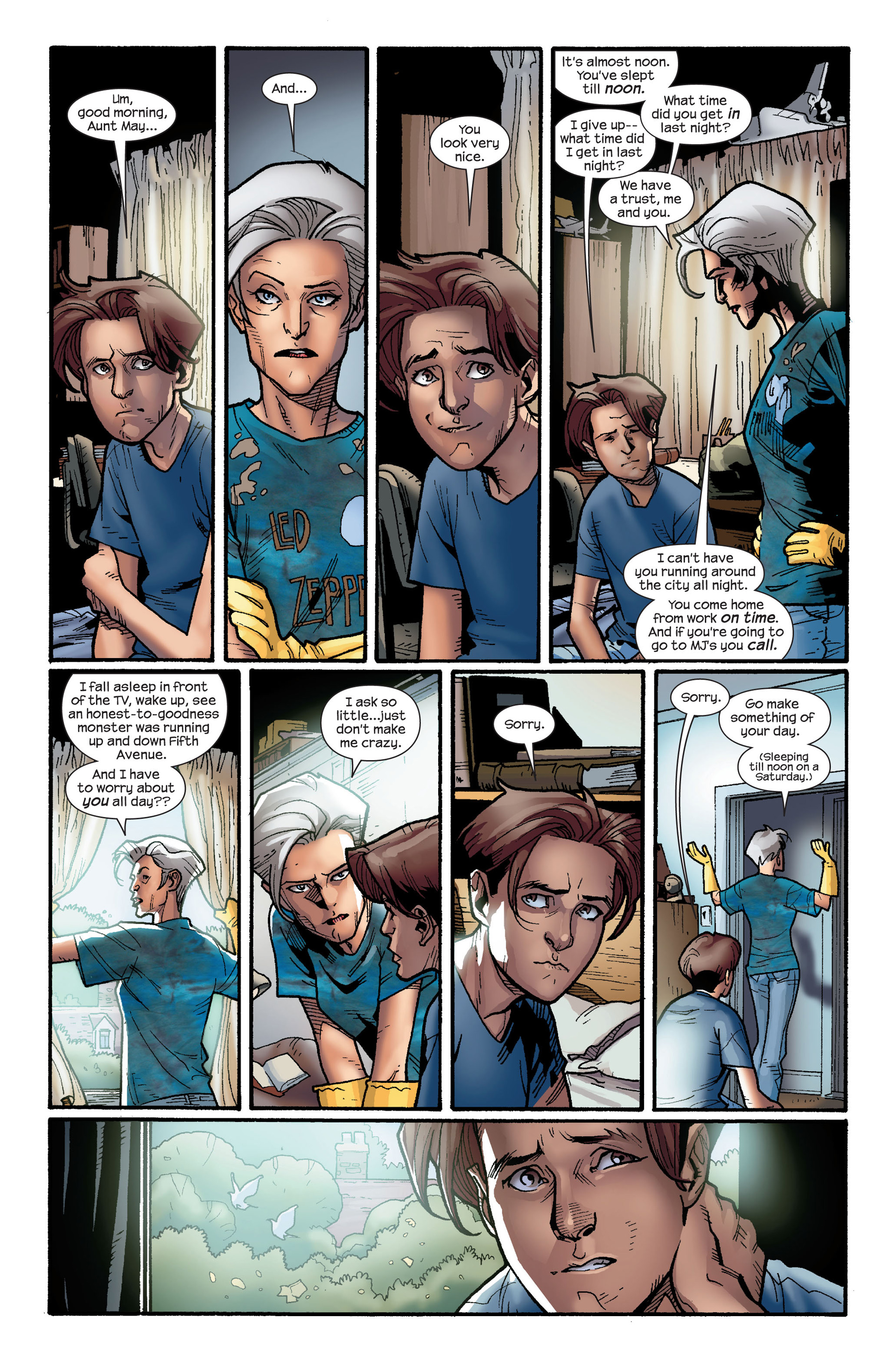 Read online Ultimate Spider-Man (2000) comic -  Issue #126 - 16