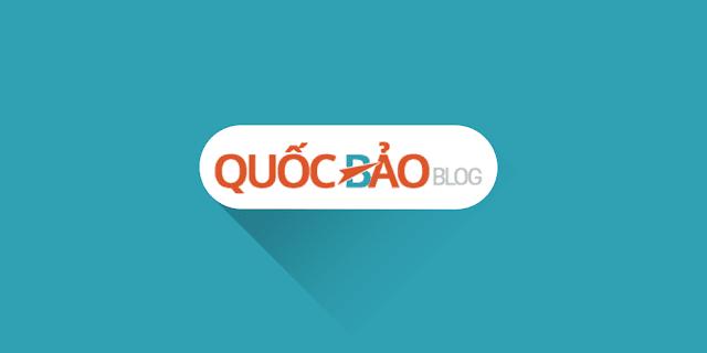 Selling QuocBaoBlog v6 Template for Blogspot