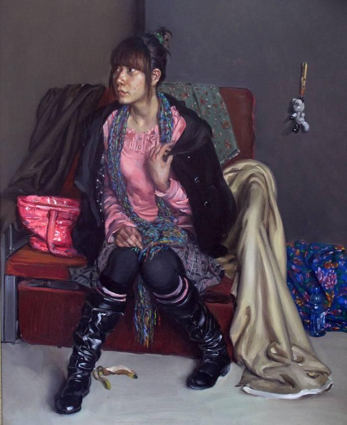 Китайский художник. Hongru Yao