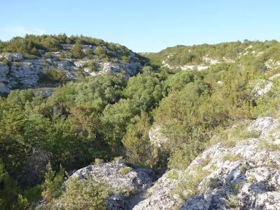 sentiero verso il Villaggio Saraceno
