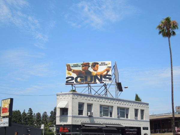 2 Guns billboard